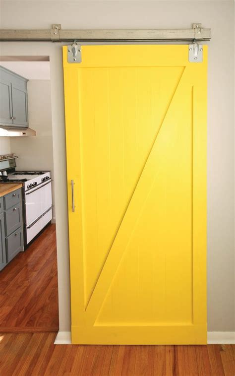 Yellow Barn Door 17 Best Images About Barn Door On Rustic Wood Sliding Barn Doors And Diy Barn Door