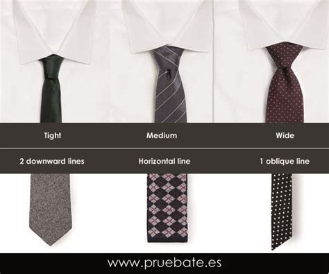 different kinds of tie different projected image pruebate