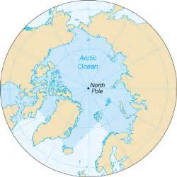 Where Is The Arctic Ocean Located On A World Map by Tis56eagles Oceans