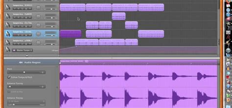 Garageband How To Change Tempo How To Gradually Increase Tempo Volume And Pitch On A