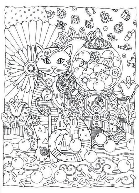 creative cats coloring pages creative cats coloring book by marjorie sarnat dover