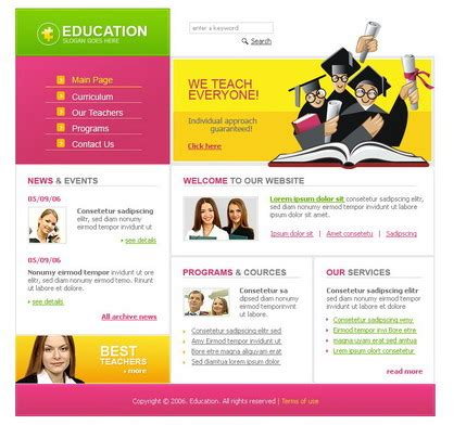 Free Website Templates Provided By Hostgator Com Hostgator Website Templates
