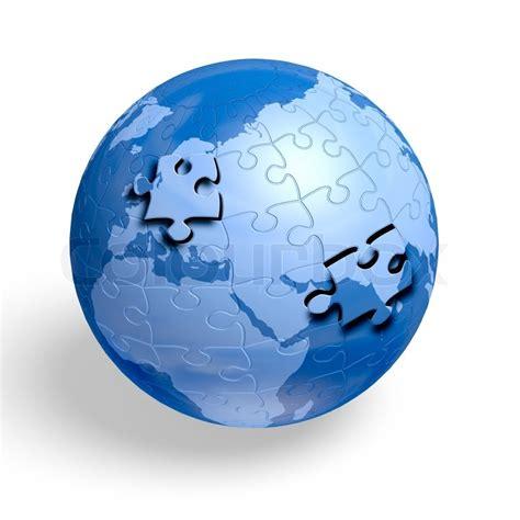 earth day printable jigsaw puzzles earth jigsaw puzzle globe stock photo colourbox