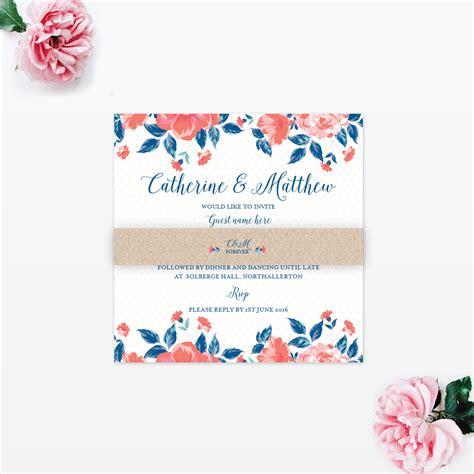 vintage floral wedding invitations vintage floral wedding invitation invited luxury