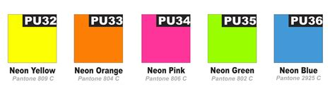 neon color codes neon colour chart jpg jpeg image 1628 215 460 pixels