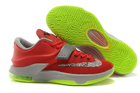 kevin durant shoes basketball nike kevin durant kd 7 basketball shoes volt silver