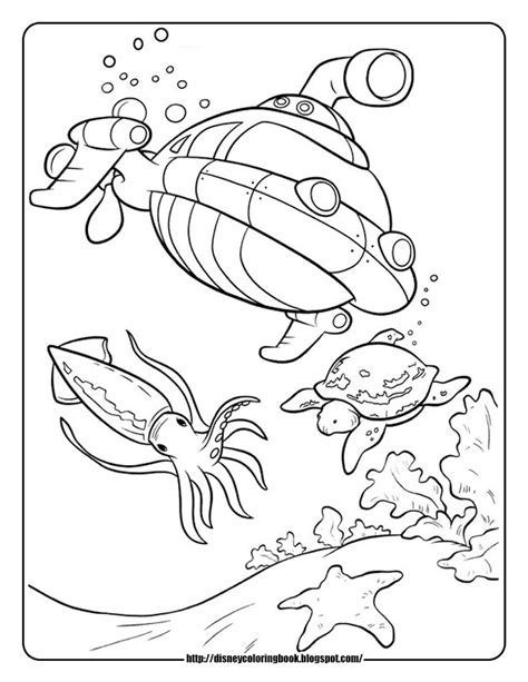disney junior octonauts coloring octonauts coloring pages