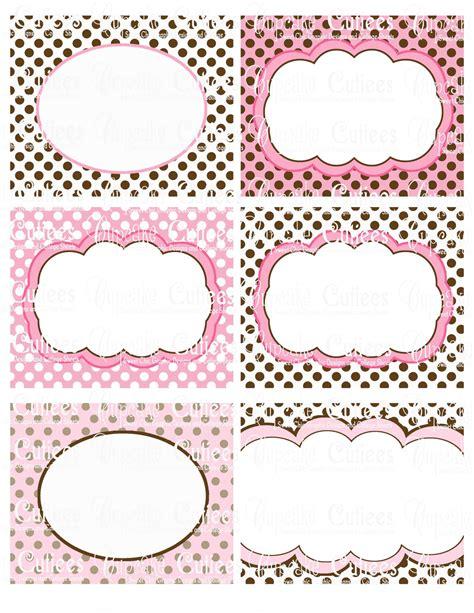 Fancy Pink Sticker Stiker Label Pengiriman best photos of printable fancy labels free blank