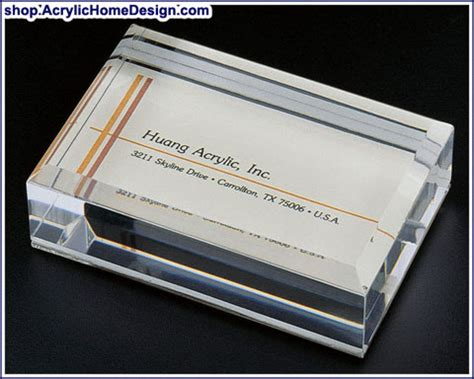 Business Card Paper Weight