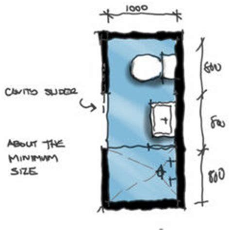 minimum size for bathroom with shower minimum size requirement of a shower room