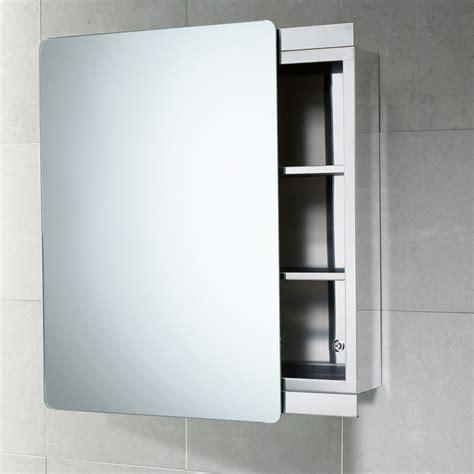 specchi bagno contenitori specchio contenitore bagno con anta scorrevole acciaio