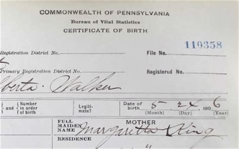 Pennsylvania Birth Records 1800s Where Are All The Pennsylvania Birth Certificates Genealogical Society Of Pa