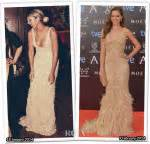Who Wore Elie Saab Better Solange Knowles Or Dita Teese by Jenner Carpet Fashion Awards