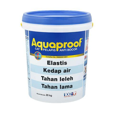 aquaproof mocca 20kg jual aquaproof cat pelapis mocca 20 kg harga