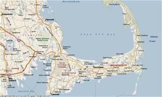 Cape Cod Massachusetts Map by Cape Cod Map