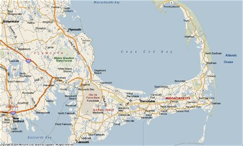 csites in cape cod ma cape cod map