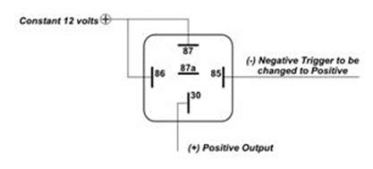 5 pin relay diagram negative trigger 36 wiring diagram
