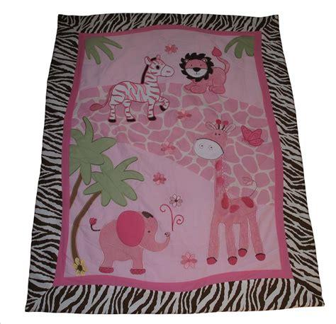 Pink Jungle Crib Bedding Baby Boutique Pink Safari 13 Pcs Nursery Crib Bedding Set