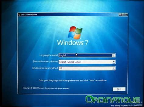 test windows 7 windows 7 test complet crazyws