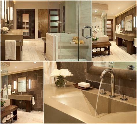 Spa style bathroom designs for your inspiration