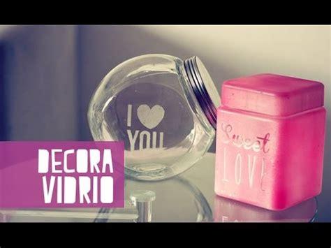 decorar frascos de vidrio facil decora frascos de vidrio f 225 cil anie youtube