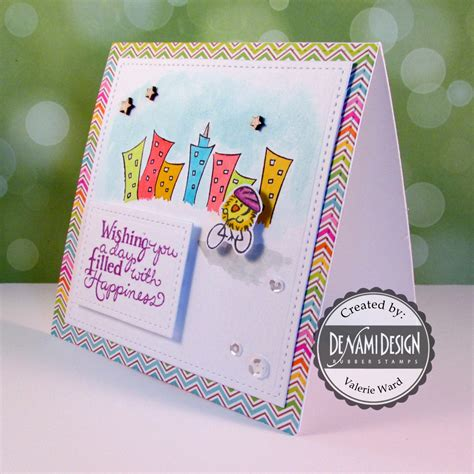 doodlebug juice well wishes greeting card design valbydesign