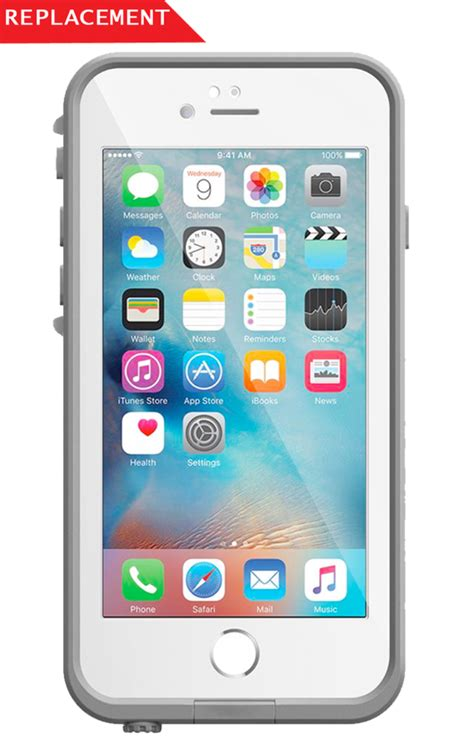 Sparepart Iphone 6 lifeproof replacement parts front cover for lifeproof fre
