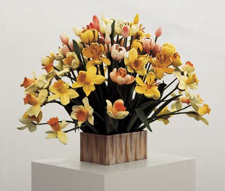 Small Vase Of Flowers by Jeff Koons Artwork Small Vase Of Flowers