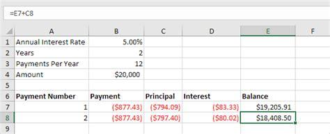 loan calculator in excel vba easy excel macros