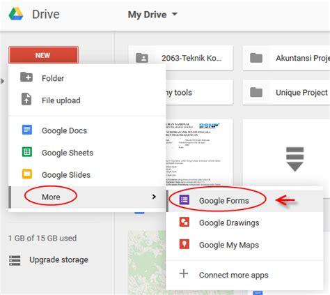 panduan membuat npwp online panduan membuat formulir online dengan google form lengkap