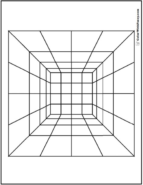 printable optical illusions pdf optical illusion geometric pages coloring pages
