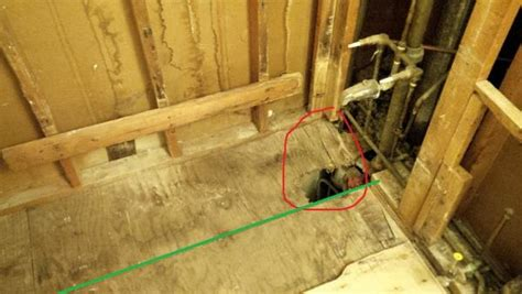 replacing a subfloor in a bathroom bathroom subfloor repair images remodeling projects jon