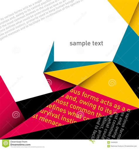 modern layout designed modern layout royalty free stock images image