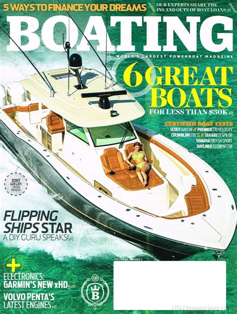 boating magazine back issues backissues boating february 2016 product details