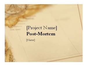 business post mortem template post mortem template project post mortem template