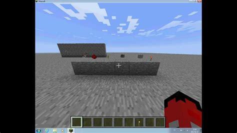 minecraft     completely hidden  door