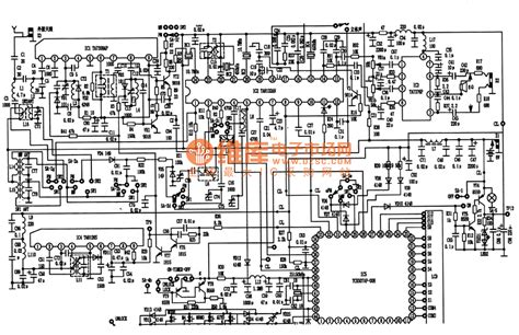 is a microprocessor an integrated circuit tc9307af 008 digital tuning microprocessor integrated circuit control circuit circuit