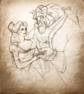 disney s beauty and the beast by mallemagic on deviantart