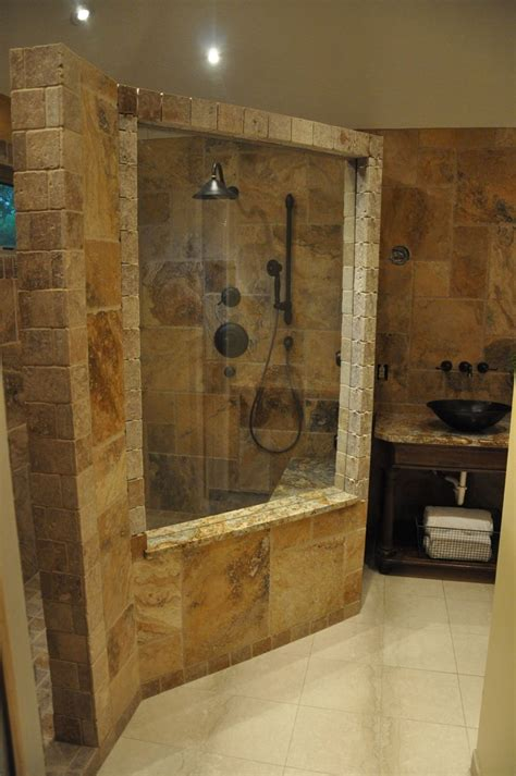 stone bathroom designs natural stone wall beautiful bathroom designs glass