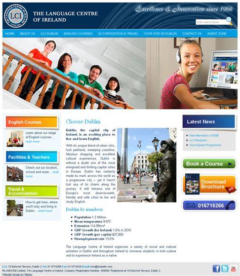 Custom Home Builder Online Lci Language Dublin Website Design Web Design