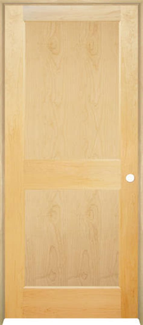 prehung maple interior doors mastercraft maple flat 2 panel prehung interior door at