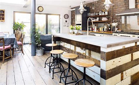 industrial style kitchen island 11 industrial style kitchens real homes
