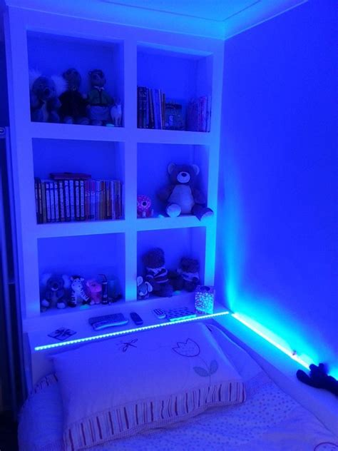 light blue led lights rgb used for bedroom led lights