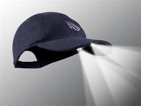 hats with lights built in led hat by power cap
