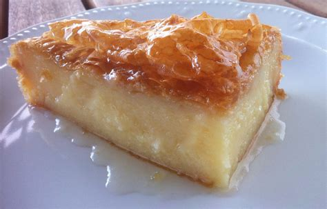 Turkish Main Dishes - traditional greek galaktoboureko recipe greek custard pie with syrup my greek dish