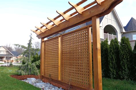 privacy pergola pergola inspired privacy barrier yahoo image search