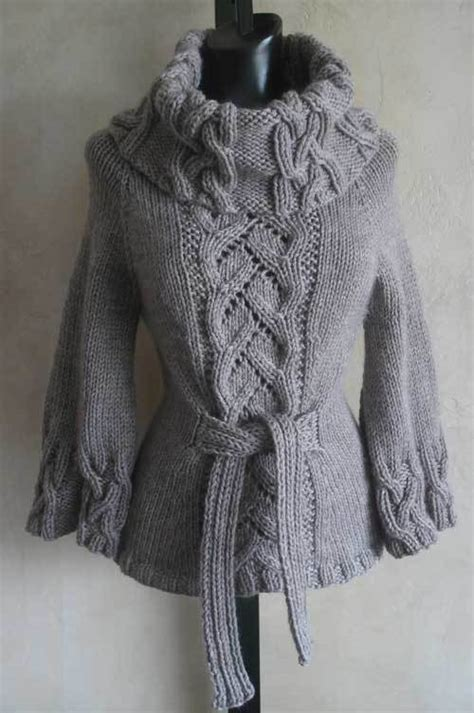 cowl neck knitting pattern sweater bestselling chic cowl neck pdf knitting pattern from