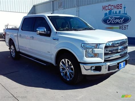 2016 white ford f150 2016 white platinum ford f150 lariat supercrew 110193556