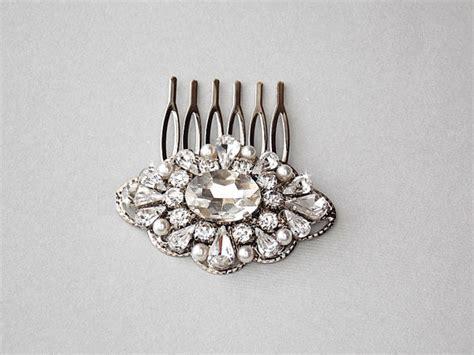 Vintage Style Wedding Hair Pieces by Vintage Style Wedding Hair Comb Bridal Hair
