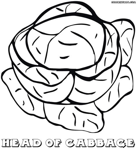 coloring book page from photo cabbage coloring pages coloring pages to download and print